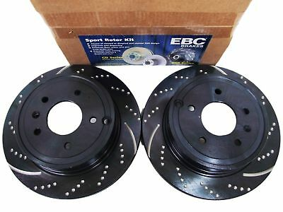 EBC Brakes GD7145 3GD Series Dimpled and Slotted Sport Rotor