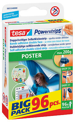 tesa Powerstrips Poster 96 St. Power Strips NEU OVP