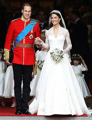 Prince William and Kate Middleton - 8x10 Color Photo