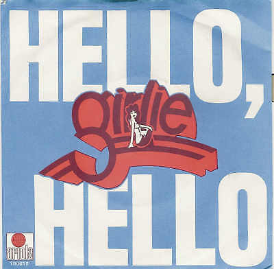 "GIRLIE - Hello, Hello / Rare 1979er, 7"" Single / RAR !!"