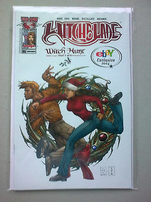 witchblade #80 witch hunt pt 1 ebay exclusive 2004 nm