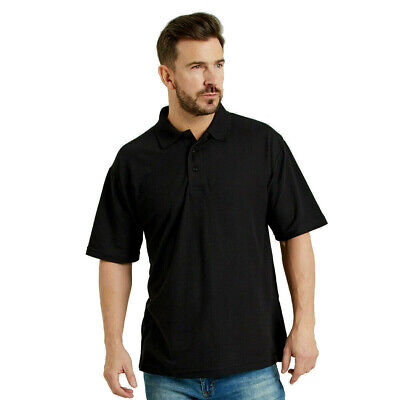 Ultimate 50/50 Piqué Polo Shirt Mens Work Wear Top Short Sleeves (UCC003) XS-5XL