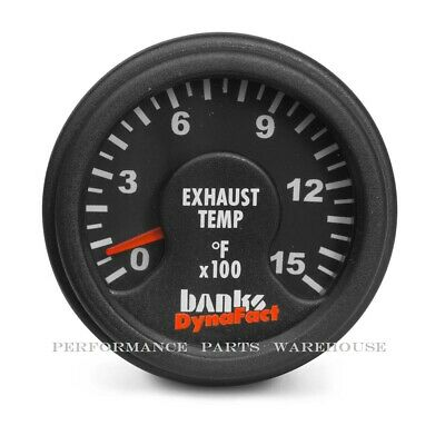 Banks Dynafact 1500° Pyrometer Gauge- Chevy Ford Dodge Diesel