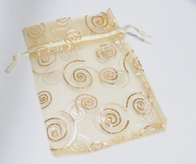 Organza Gift Bag for Jewlery or Beads 3.5 X 4.75 inch