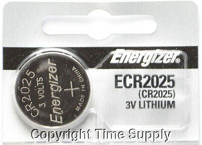 1 pc 2025 Energizer Watch Batteries CR2025 CR 2025 3V Lithium Battery 0%HG