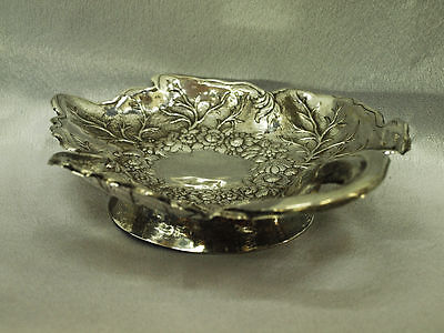 19Th Century Antique Original Silver Ottoman Plate