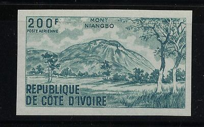 Ivory Coast  C42  Mint NH Imperforate  green