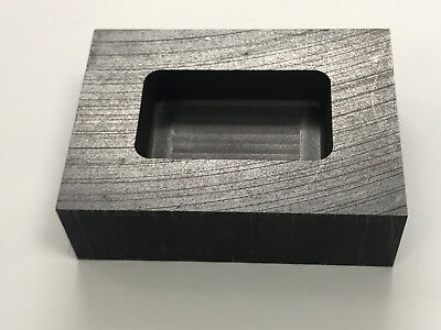 High Quality Graphite Ingot Mold 10 Oz Gold 5 Ounces Silver Scrap Refining Melt