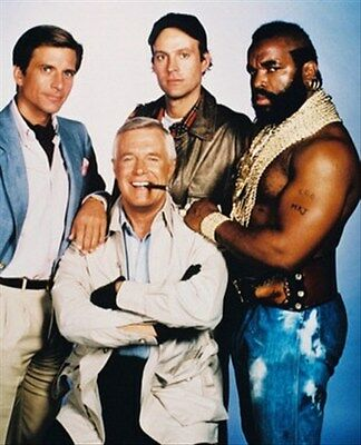 "THE A-TEAM TELEVISION PHOTO Poster Print 24x20"" gift idea 23472"