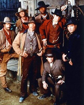 """THE MAGNIFICENT SEVEN MOVIE PHOTO Poster Print 24x20"""" nice pic 232453"""