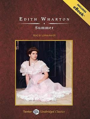 Summer by Edith Wharton Compact Disc Book (English)
