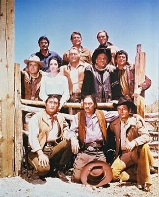 THE HIGH CHAPARRAL MOVIE PHOTO 8x10 Photo