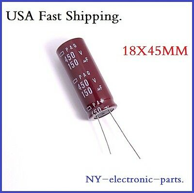 1X 150UF 450V NCC RADIAL ELECTROLYTIC CAPACITORS 450v150uf  150uf450v JAPAN