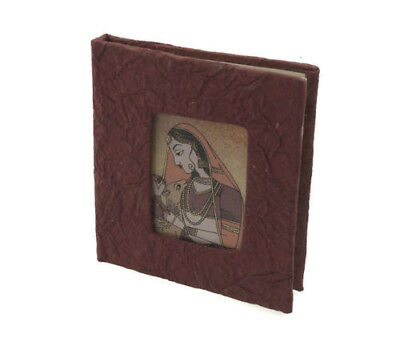 Carnet De Notes Journal Artisanal Papier Recycle Inde F