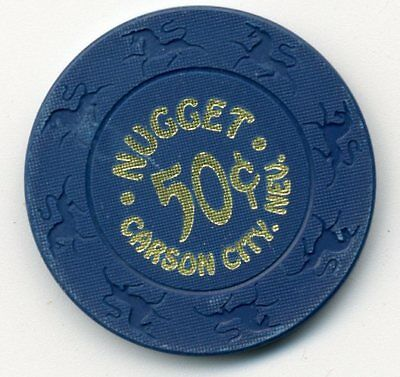 Nugget  Carson City Nev. Casino 50 Cent   Chip