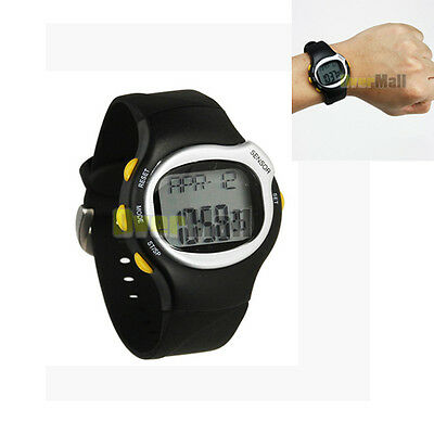 Pulse Heart Rate Monitor Calories Counter Watch Fitness