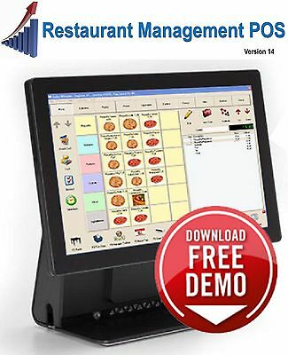 Restaurant POS System - ONLY Software - NO EQUIPMENT