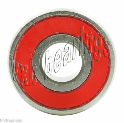 6304-2RS 20x52x15 Sealed 20mm/52mm/15mm 6304RS Deep Groove Radial Ball Bearings
