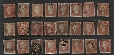 Great Britain  #3  used 64 stamps nice lot LOOK