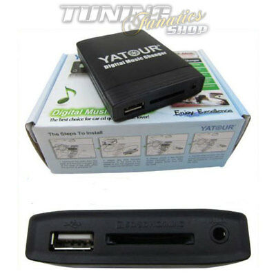 USB SD MP3 AUX In CD Wechsler Interface Adapter 8-Pin Seat Radio Alana Aura Lena