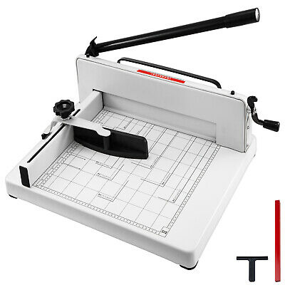 """New Heavy Duty Guillotine Paper Cutter 17"""" Commercial Metal Base A3 Trimmer"""
