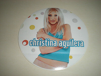 Christina Aguilera - Round Sticker
