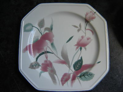 """MIKASA """"SILK FLOWERS"""" DINNER PLATE ~ F3003  ~ PICK-UP or POST"""