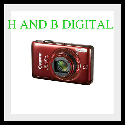 Canon PowerShot ELPH 510 HS 12.1 MP Digital Camera (Red) Full HD Video