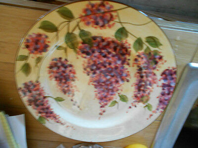 Heritage Mint WISTERIA hand painted dinner plate,Scottsdale,AZ,1 of  2 available