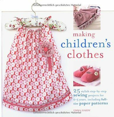 Making Children's Clothes-Emma Hardy