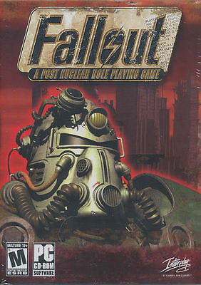 FALLOUT A Post Nuclear Role Playing Game Fall Out 1 RPG PC Game US Version NEW!