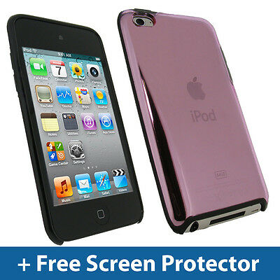 Pink TPU Gel Case for Apple iPod Touch 4th Gen 4G iTouch Bumper Skin Cover