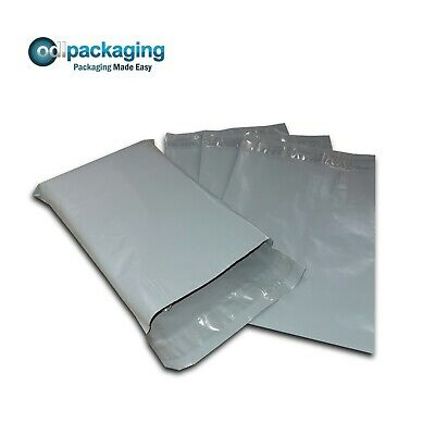 30 Grey Plastic Mailing/Mail/Postal/Post Bags 16 x 21