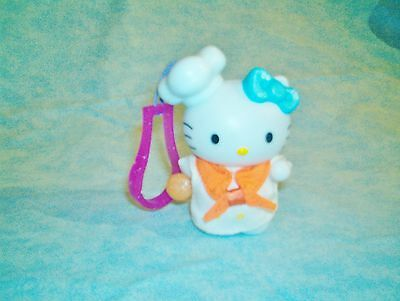 HELLO KITTY 3 1/2 INCH TALL FIGURE /KEY-PURSE - CELL PHONE SANRIO 1976-2000 ITEM