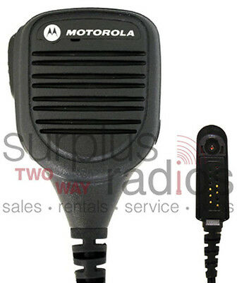 New Motorola Remote Speaker Mic 3.5Mm Audio Fm Approved Ht750 Ht1250 Pmmn4039A
