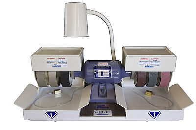 "rle DIAMOND PACIFIC GENIE 6"" POLISHER GRINDER LAPIDARY BRAND NEW! THE BEST!"