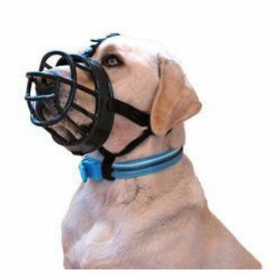 The Ultra Baskerville Muzzle Choice Of Sizes To Keep Your Dog Safely