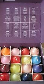 PartyliteTROPICAL WATERFALL 16 VOTIVES  in a BOX  RARE