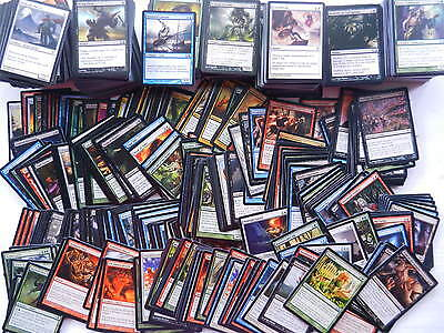 500 COMMONS MAGIC THE GATHERING common mtg deck
