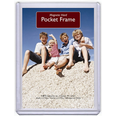 MAGNETIC POCKET-STYLE WALLET-SIZED PHOTO HOLDER REFRIGERATOR 99¢ EACH like frame