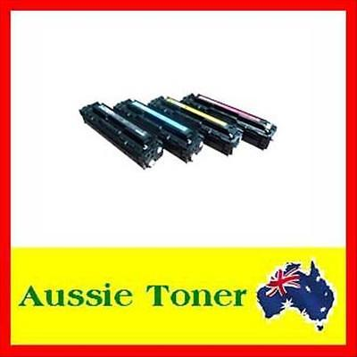 4x CE320A -CE323A toner cartridge for HP Laser CM1415 CM1415fn CP1525 CP1525nw