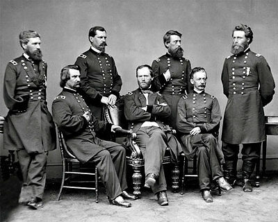 General William T Sherman #4 Photo - Union Army Staff