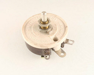 New Memcor 8 ohms 12.5Watt Single Turn Rheostat ohm 12.5W