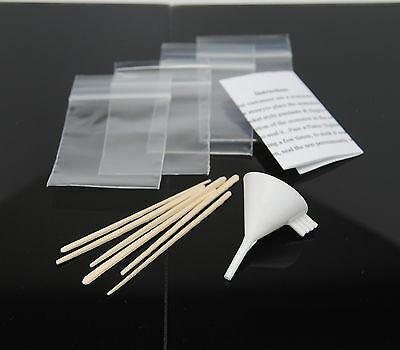 Cremation Urn Funnel Fill Kit For Cremation Jewelry Small Mini Plastic Funnel