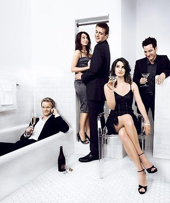 Poster How I Met Your Mother Alla Fine Arriva Mamma Marshall Barney Legend #12