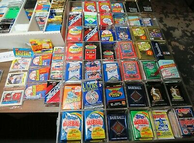 700 Baseball Cards Lot In Factory Sealed Packs 80's-00