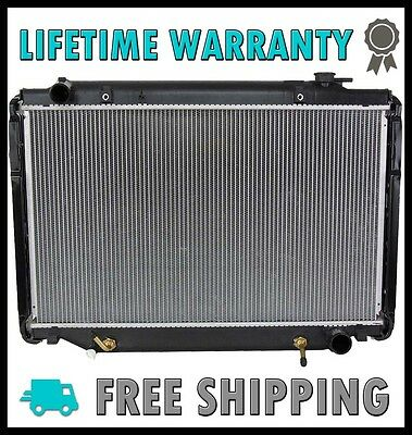 new A/&W 4Row Core Radiator For 1996-1997 Lexus LX450//Landcruiser 93-97 4.5L L6