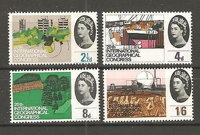 wbc. - GB - COMMEMS - 1964 -  INT GEOGRAPHICAL CONGRESS  - UNMOUNTED MINT