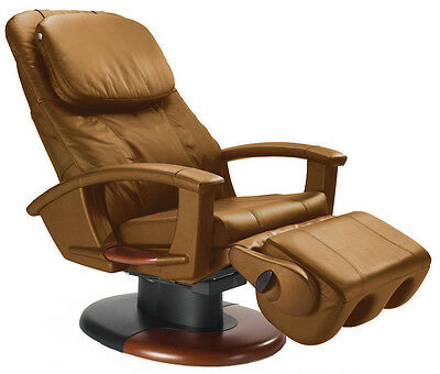 CAPPUCCINO LEATHER HT-135 Human Touch Massage Chair  Power Massaging Recliner FR