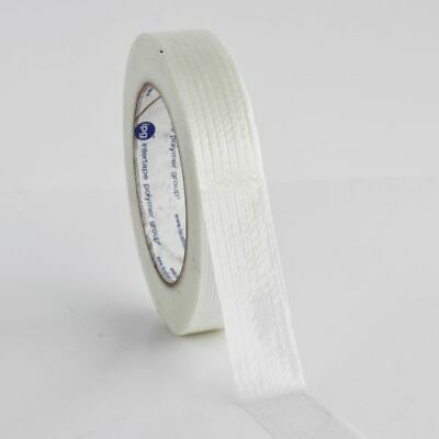 (12) 2 INCH x 60 YARDS REINFORCED FILAMENT TAPE 12 ROLLS/CS 3.9 MIL + FREE SHIP